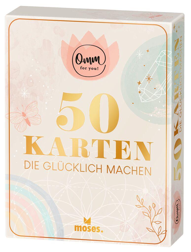 Omm for you - 50 Karten, die glücklich machen