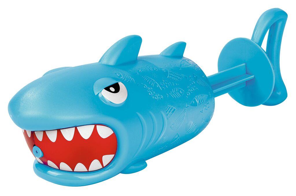 Spritzender Hai hellblau