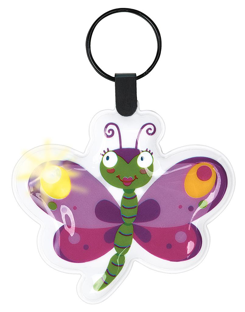 Krabbelkäfer Mini-Taschenlämpchen  Schmetterling