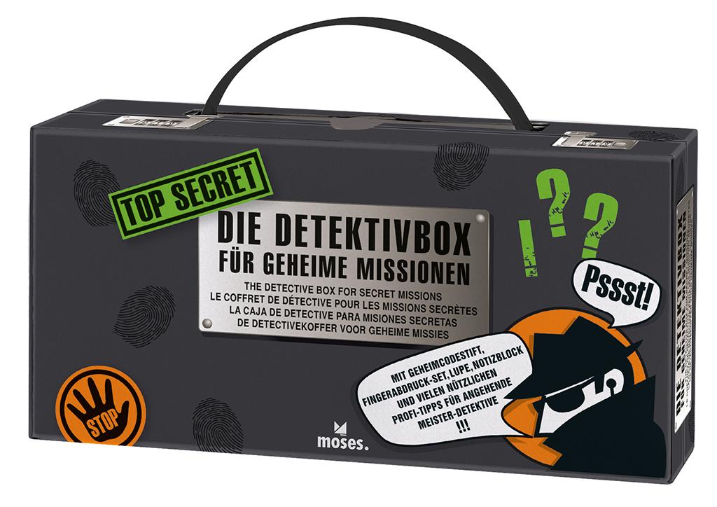 Top Secret - Detektivbox für geheime Missionen