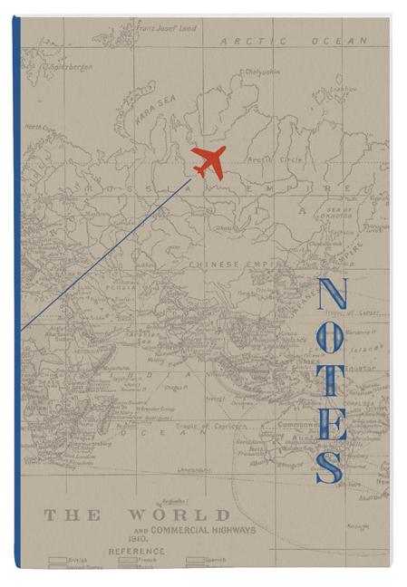Fernweh Notizhefte Maps 3er Set