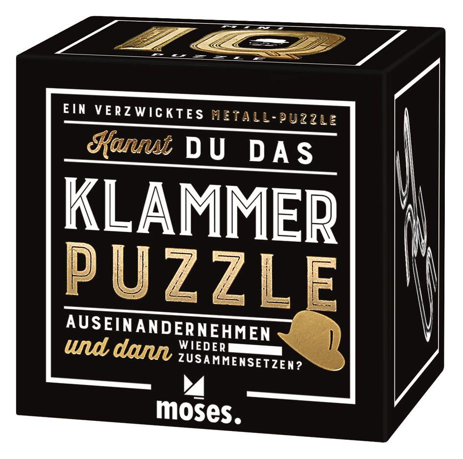 Prof Puzzle Mini IQ Puzzle Klammer