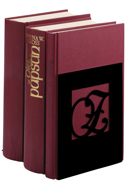 Buchstützen A & Z schwarze Edition (2er Set)