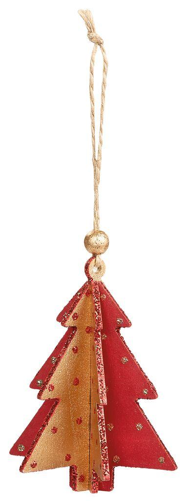 3D Holzanhänger Tannenbaum