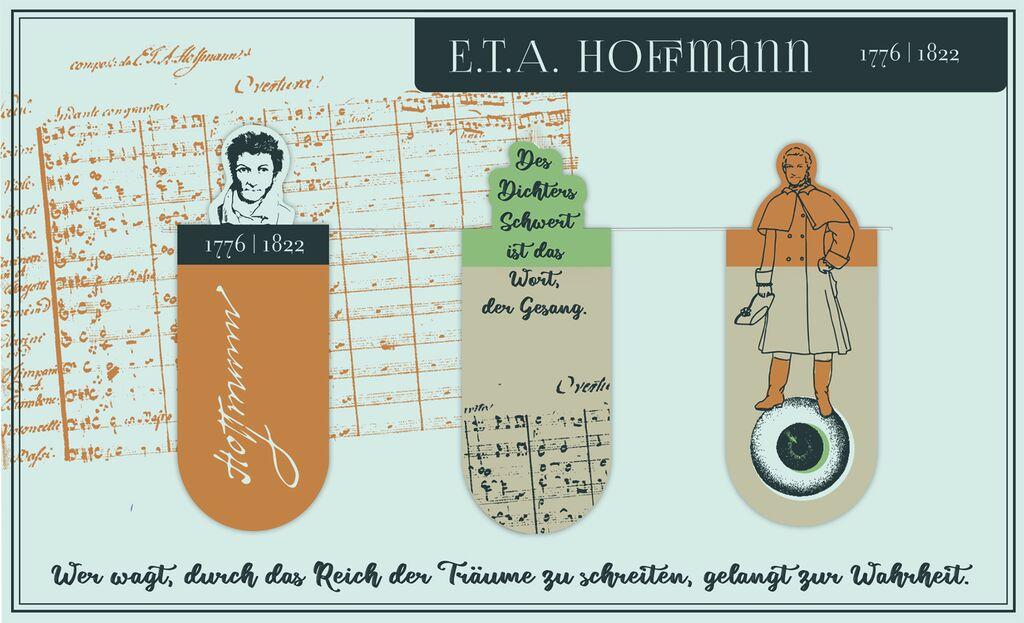 Magnetlesezeichen E.T.A. Hoffmann
