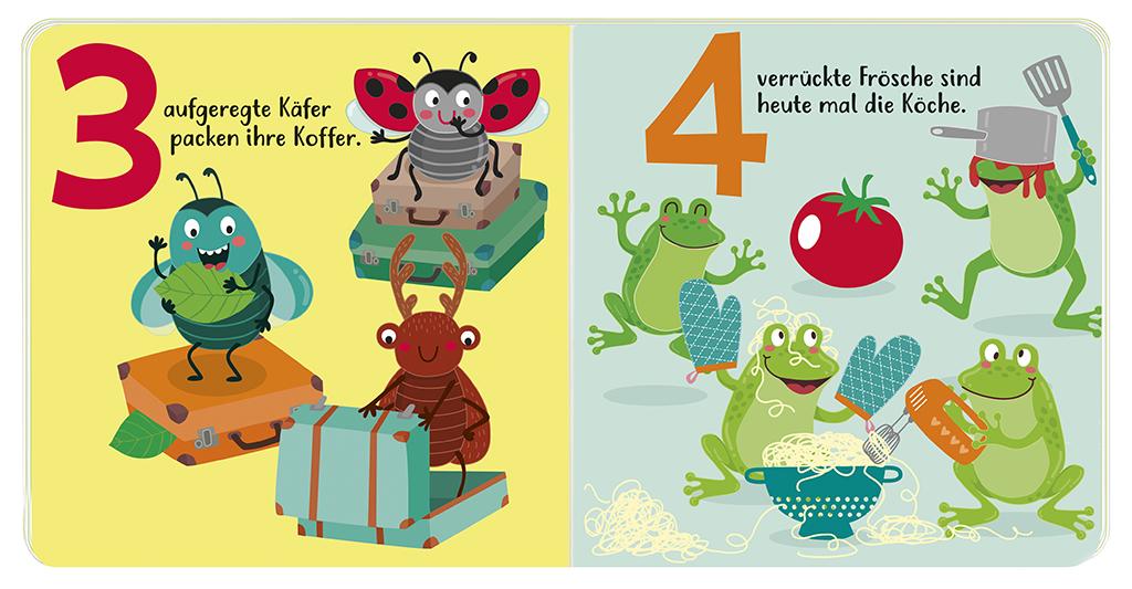 Krabbelkäfer-Bilderbuch: Erste Zahlen