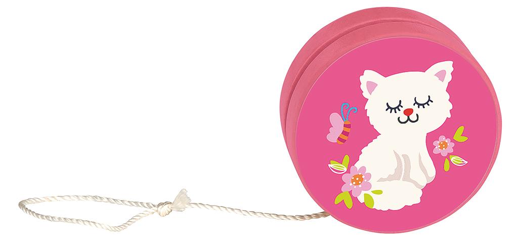 Katzen-Jojo pink