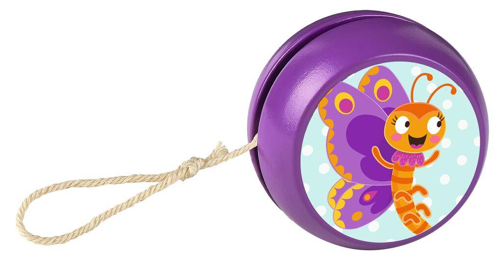 Krabbelkäfer Holzjojo violett