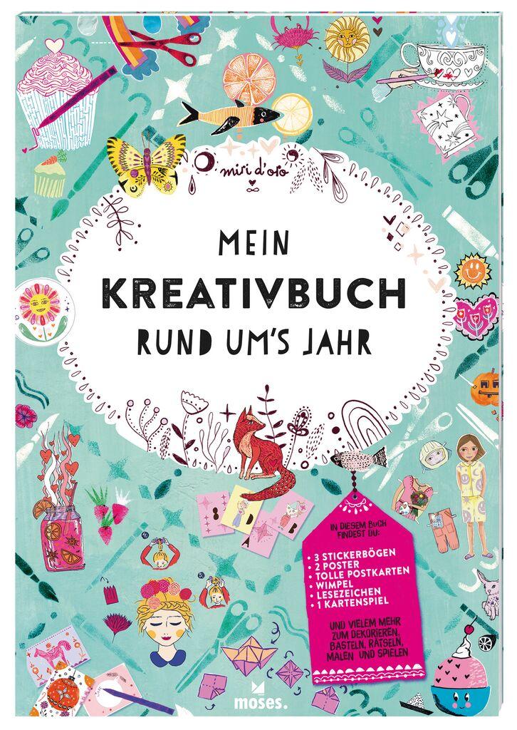 Mein Kreativbuch rund um's Jahr