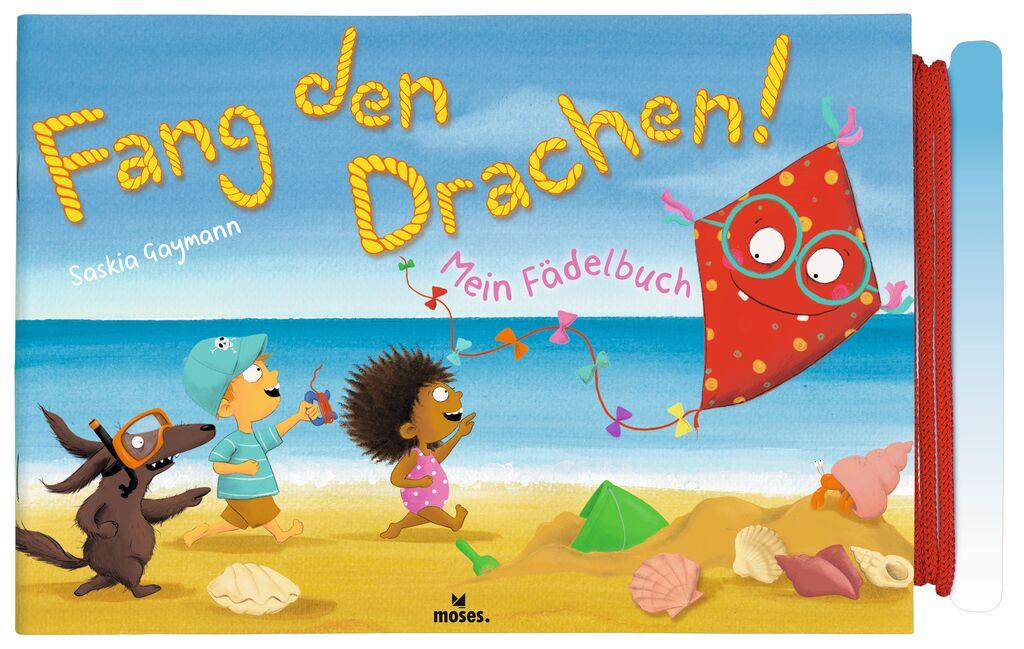 Mein Fädelbuch - Fang den Drachen!