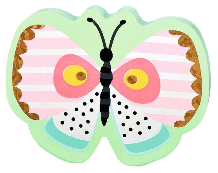 Flowers & Friends Radierer Schmetterling