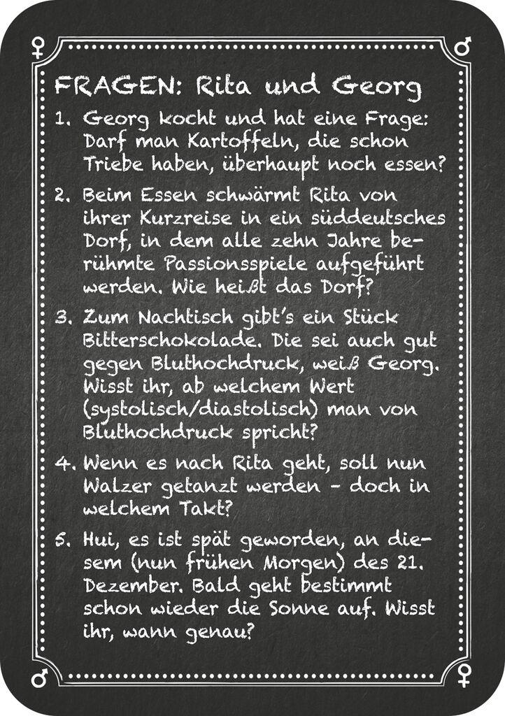 Kneipenquiz - Pärchenabend (3. Ergänzungsset)
