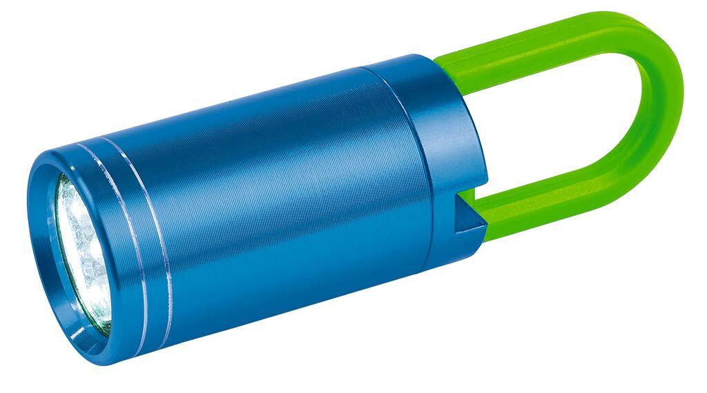 Exp. Natur Taschenlampe Twist & Shine blau