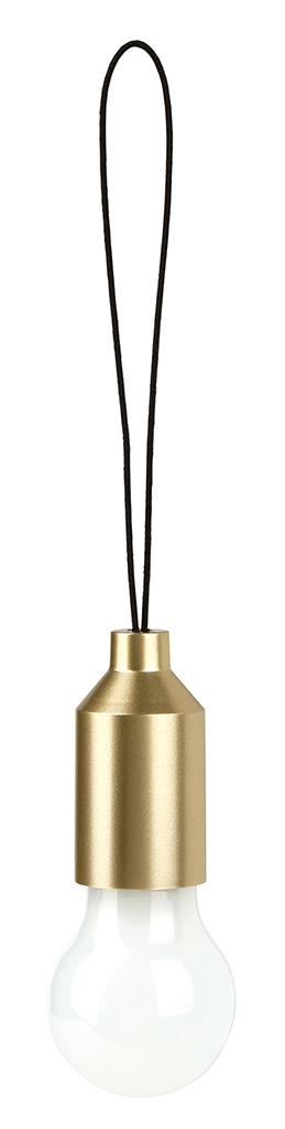 Mini-Glühbirne gold