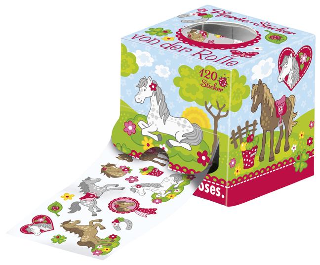 Papeterie Sticker Pferde