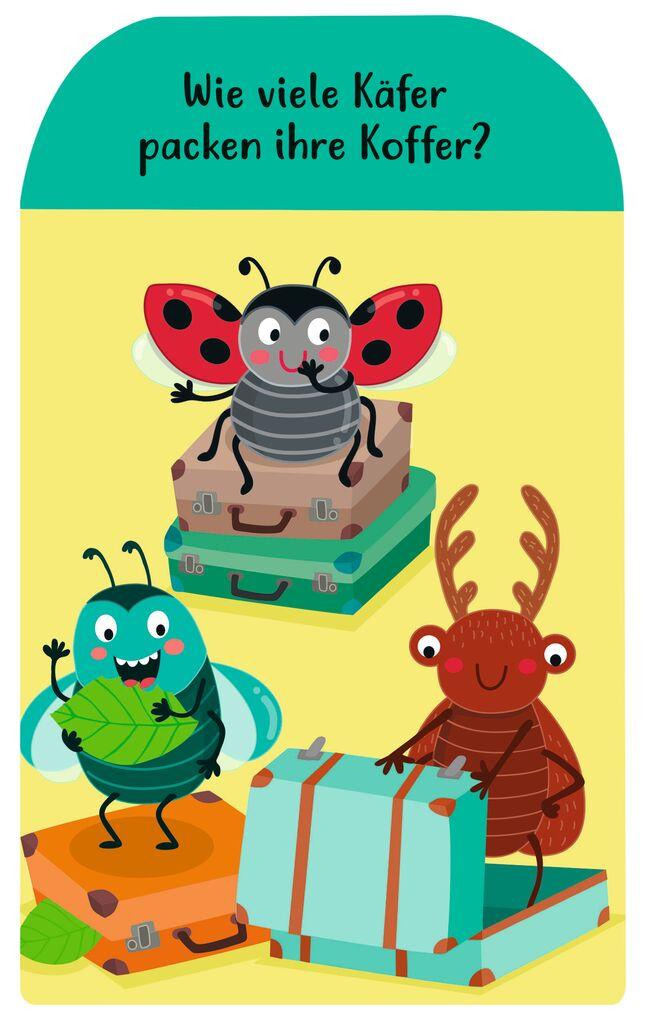 Zählen lernen mit den Krabbelkäfern - Magnetischer Lernspaß