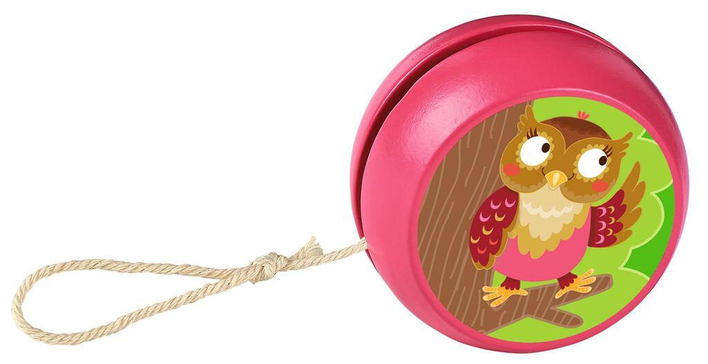 Krabbelkäfer Holzjojo rosa