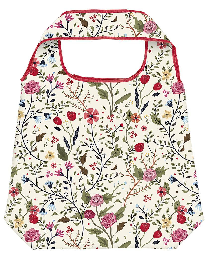 moses. Shopper Blumen, faltbare Einkaufstasche