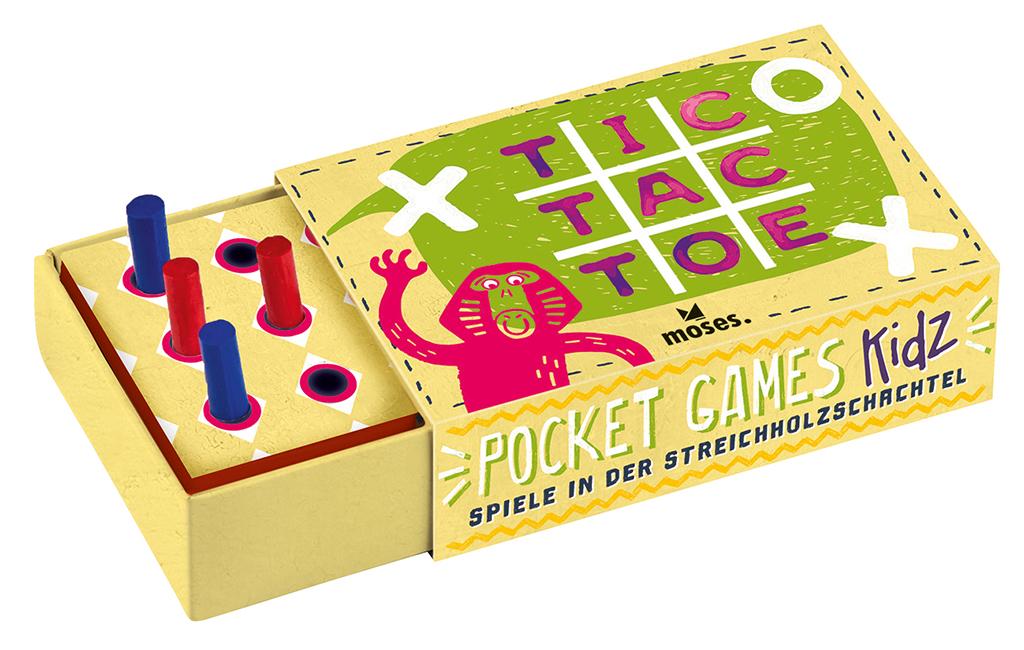 Pocket Games Kidz Tic Tac Toe