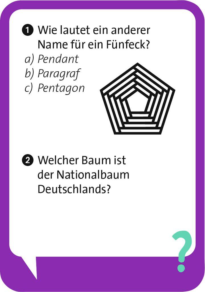 Pocket Quiz junior - Allgemeinwissen