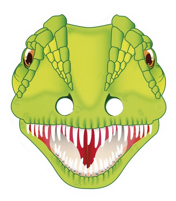 Maskenbuch Dino