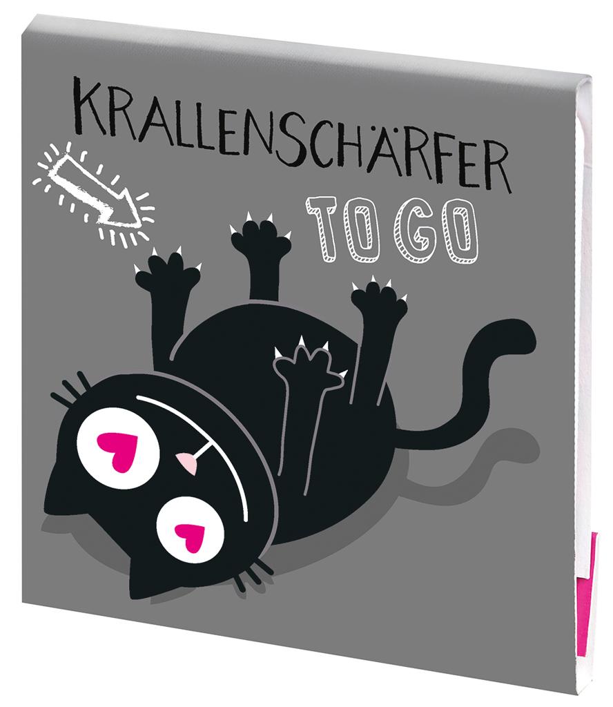 Ed, the Cat Krallenschärfer grau