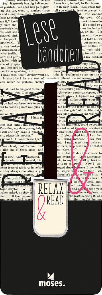 Lesebändchen Relax