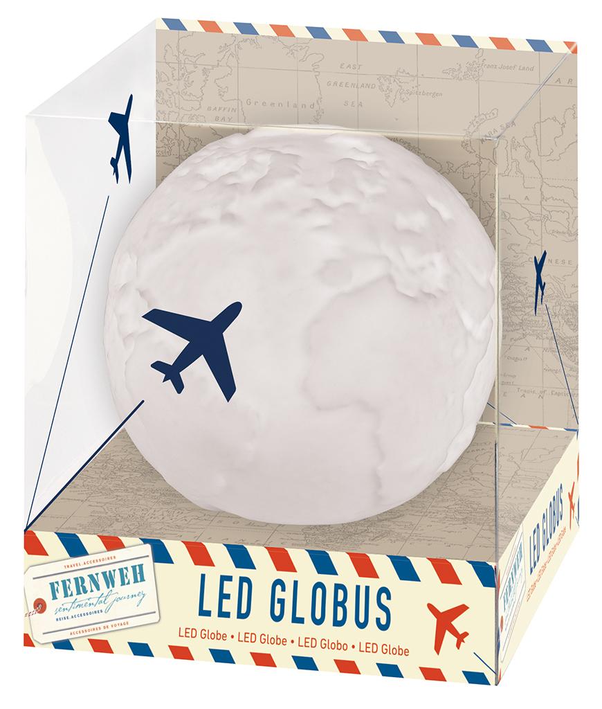 Fernweh LED Globus
