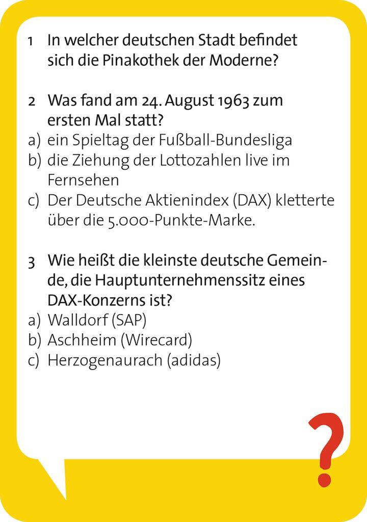 Pocket Quiz - Deutschland