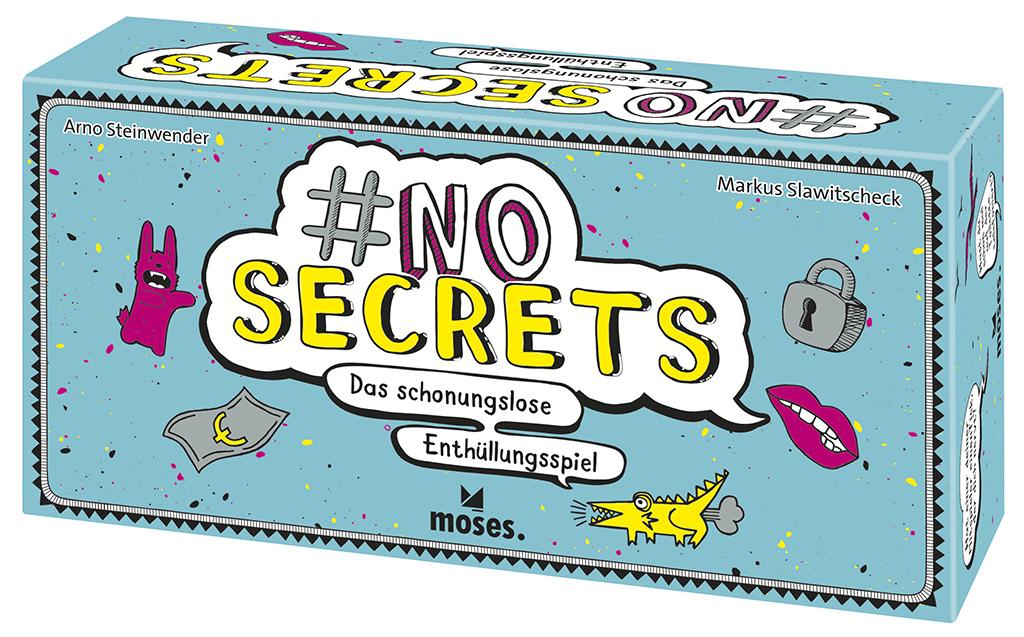 #no secrets - Das schonungslose Enthüllungsspiel