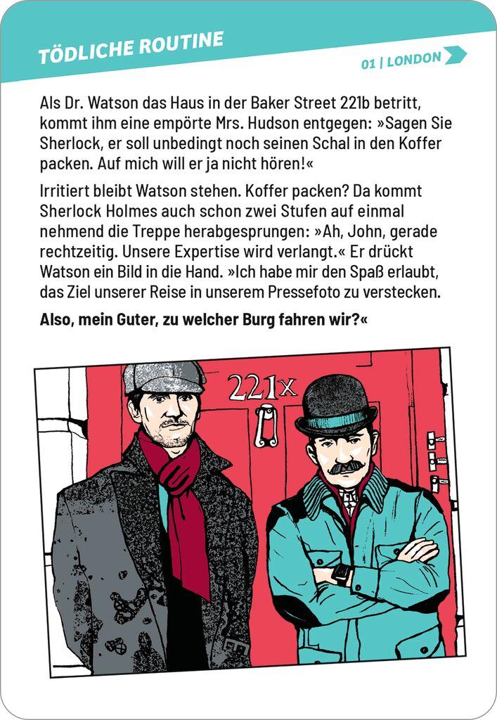 Schlau wie Sherlock - Denksport für Meisterdetektive
