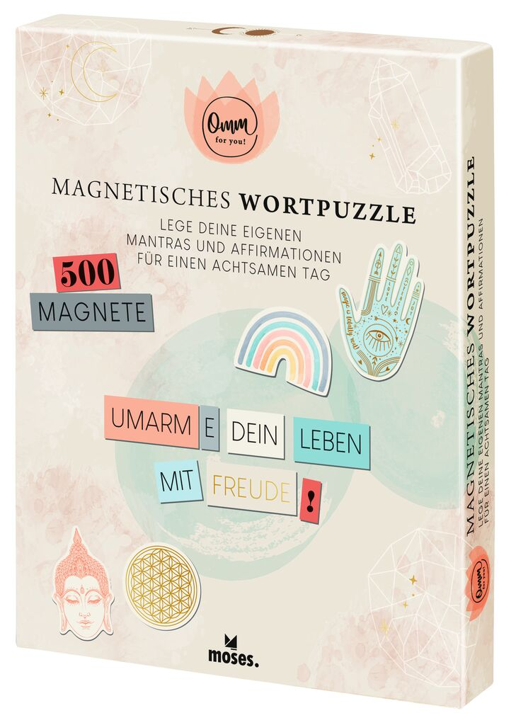 Omm for you Magnetisches Wortpuzzle