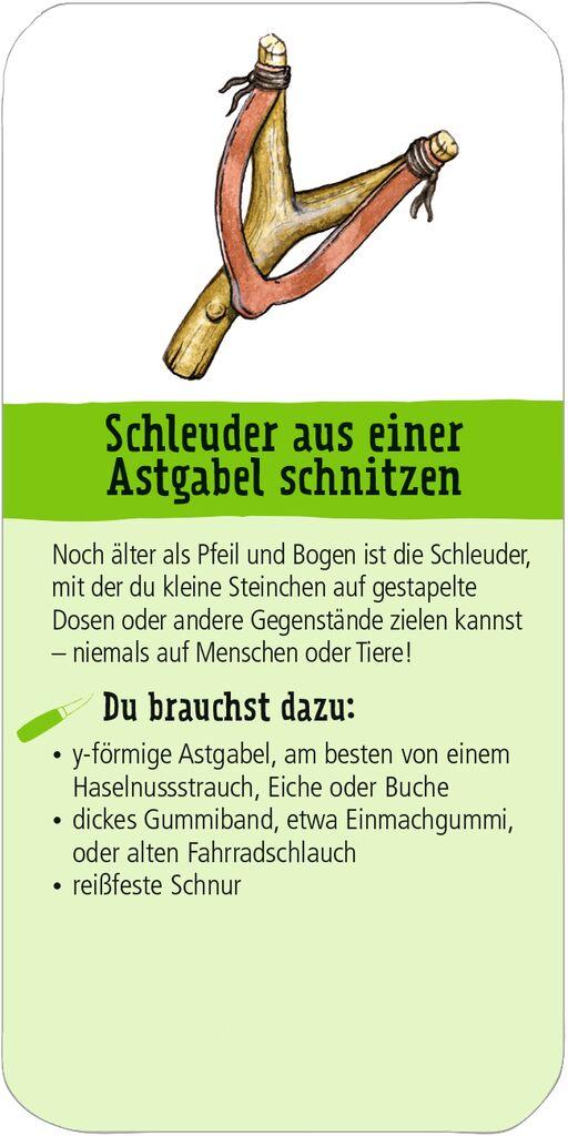 Expedition Natur Fächer - Schnitzen