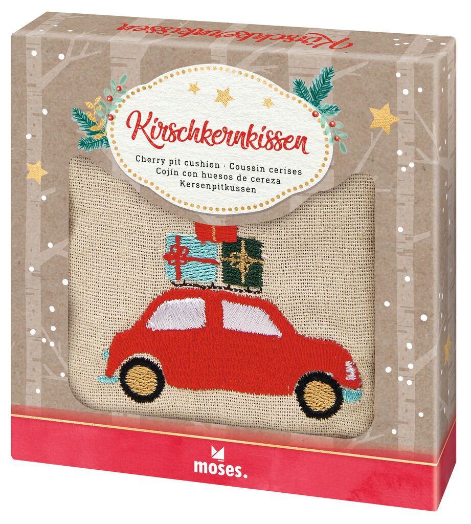 Kirschkernkissen Winterwunder Auto