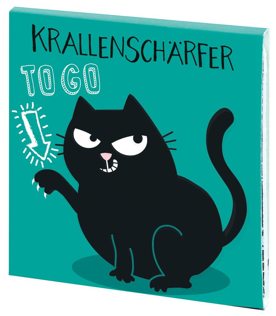 Ed, the Cat Krallenschärfer grün
