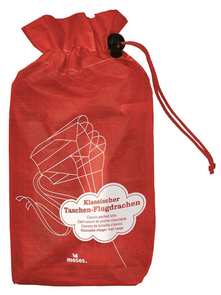 Bunter Taschen-Flugdrachen