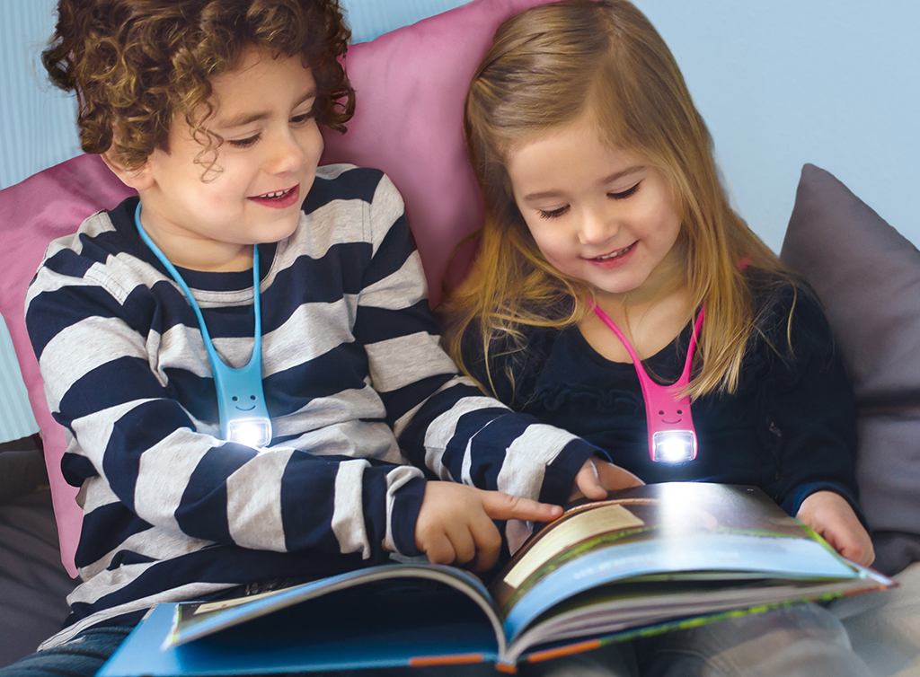 Lese Buddy - Das multifunktionale Leselicht blau