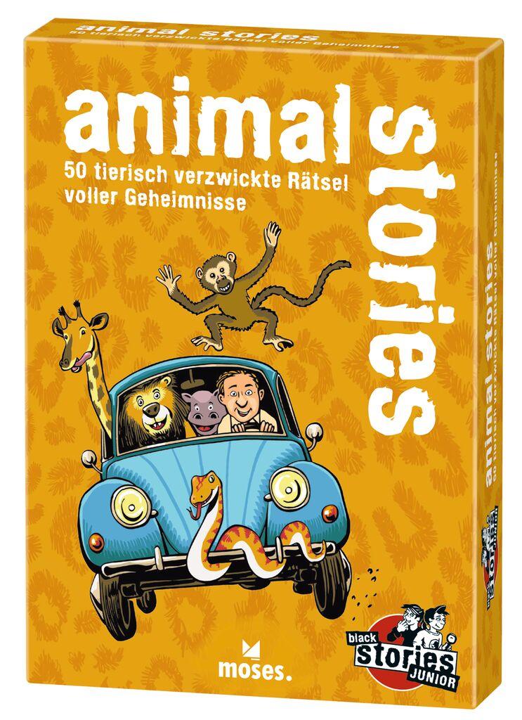 animal stories - black stories Junior