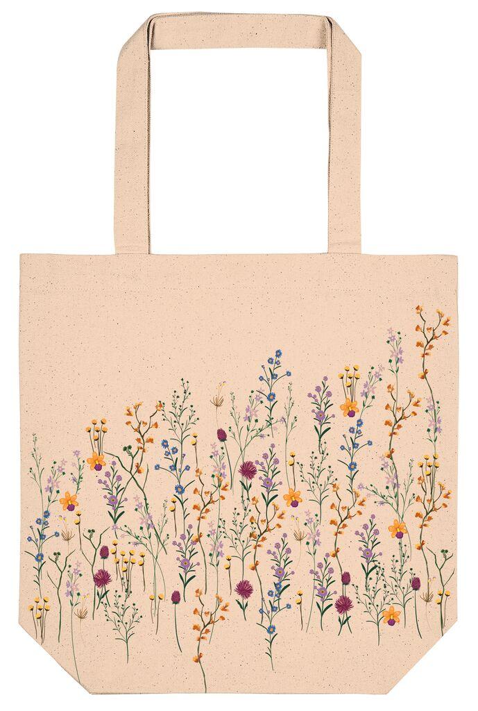 Shopper Blumenwiese - Bio-Baumwolle