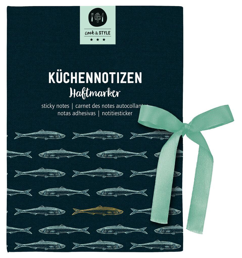 cook & STYLE Haftmarker-Büchlein Küchennotizen