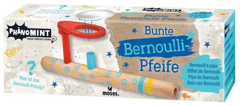 PhänoMINT Bunte Bernoulli-Pfeife hellblau