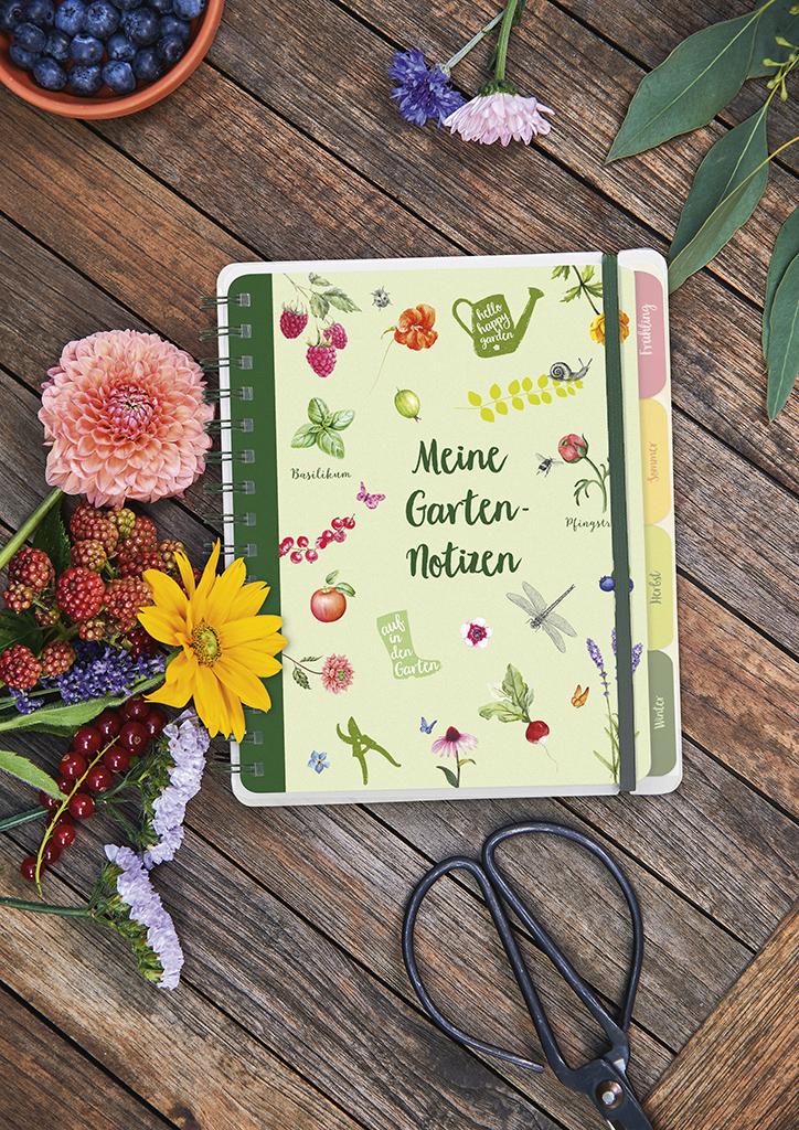 Blatt & Blüte Meine Gartennotizen