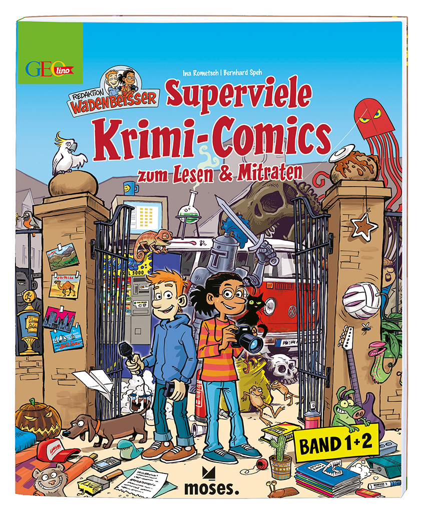 GEOlino Wadenbeißer - Superviele Krimi-Comics (Band 1 und 2), limitiert