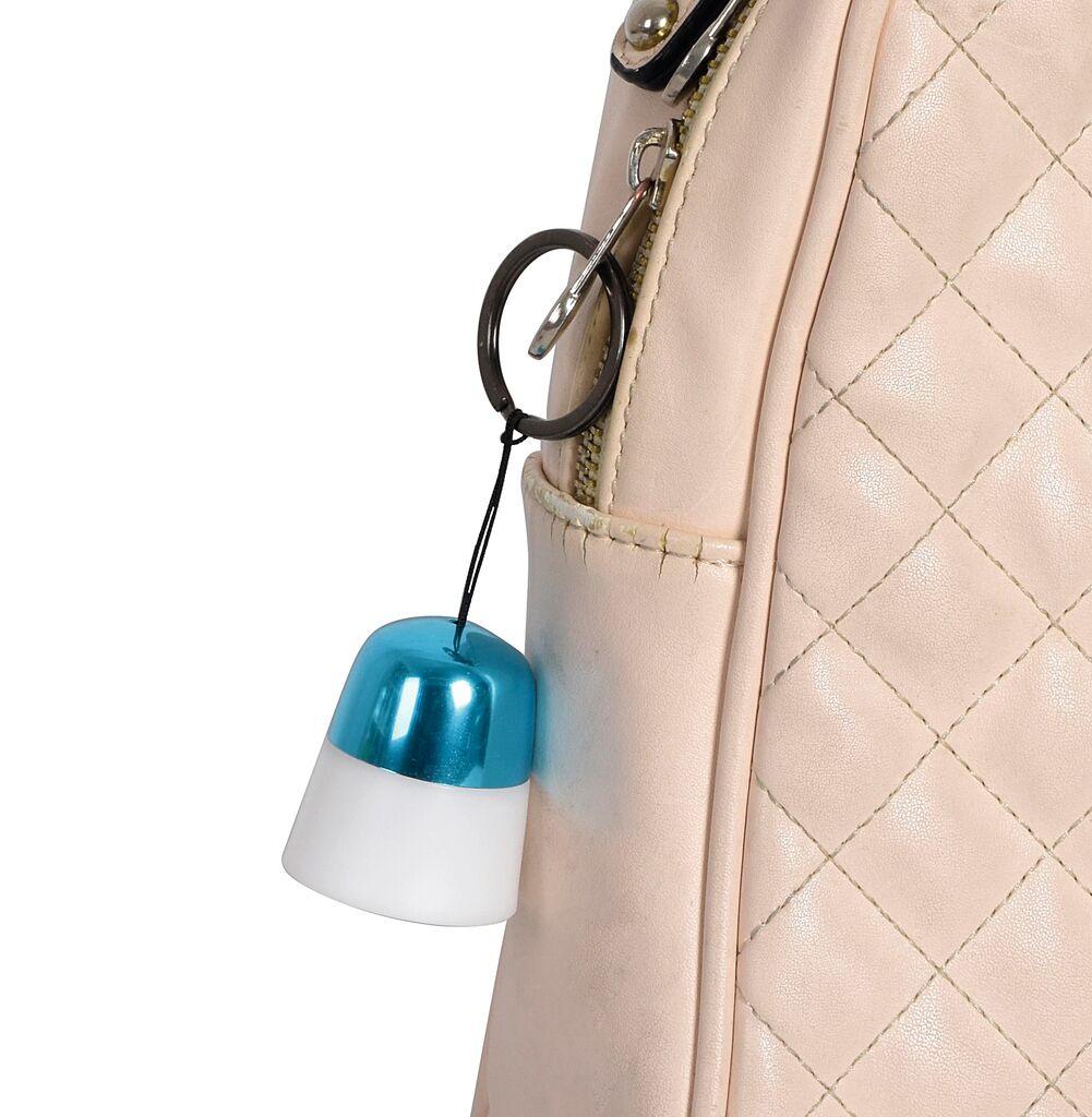 Mini-Pull-Light - Licht am Schlüsselanhänger (versch. Farben)