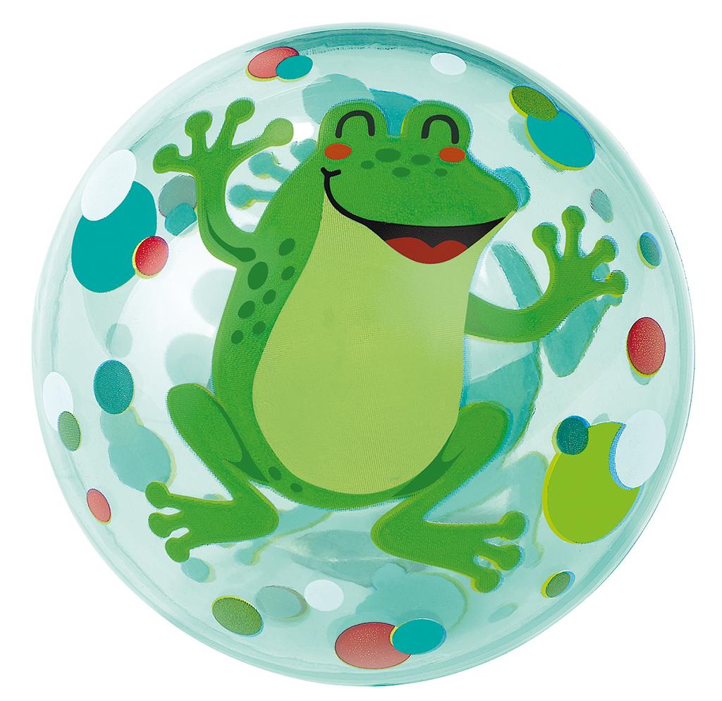 Krabbelkäfer Leuchtender Sprungball Frosch