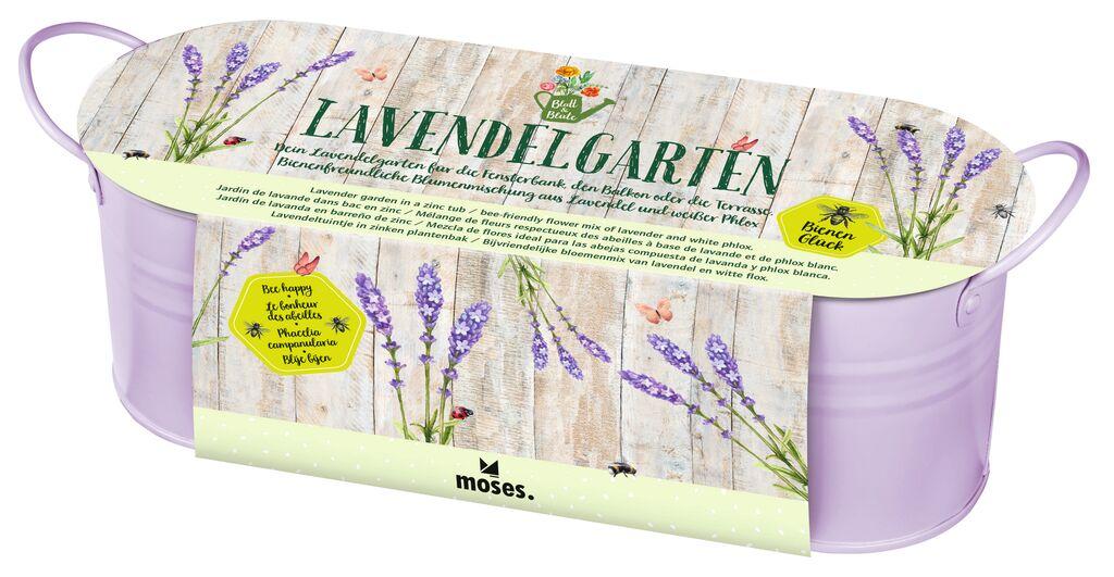 Blatt & Blüte Lavendelgarten in Zinkwanne