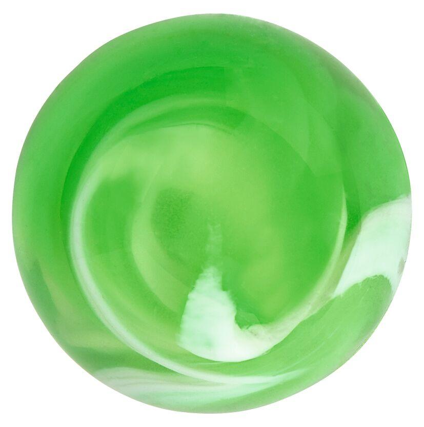 Leuchtender Galaxie-Flummi grün
