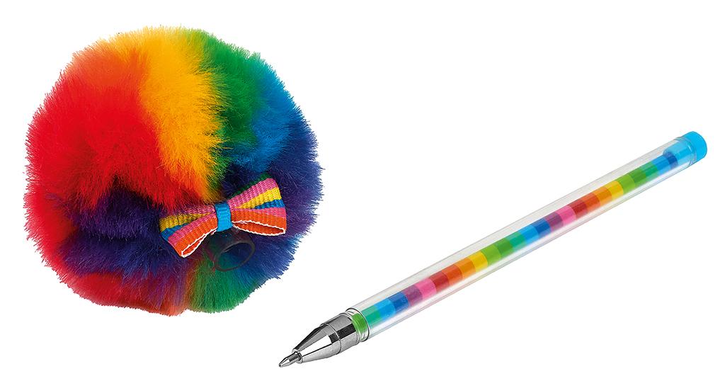 Puschel-Kugelschreiber