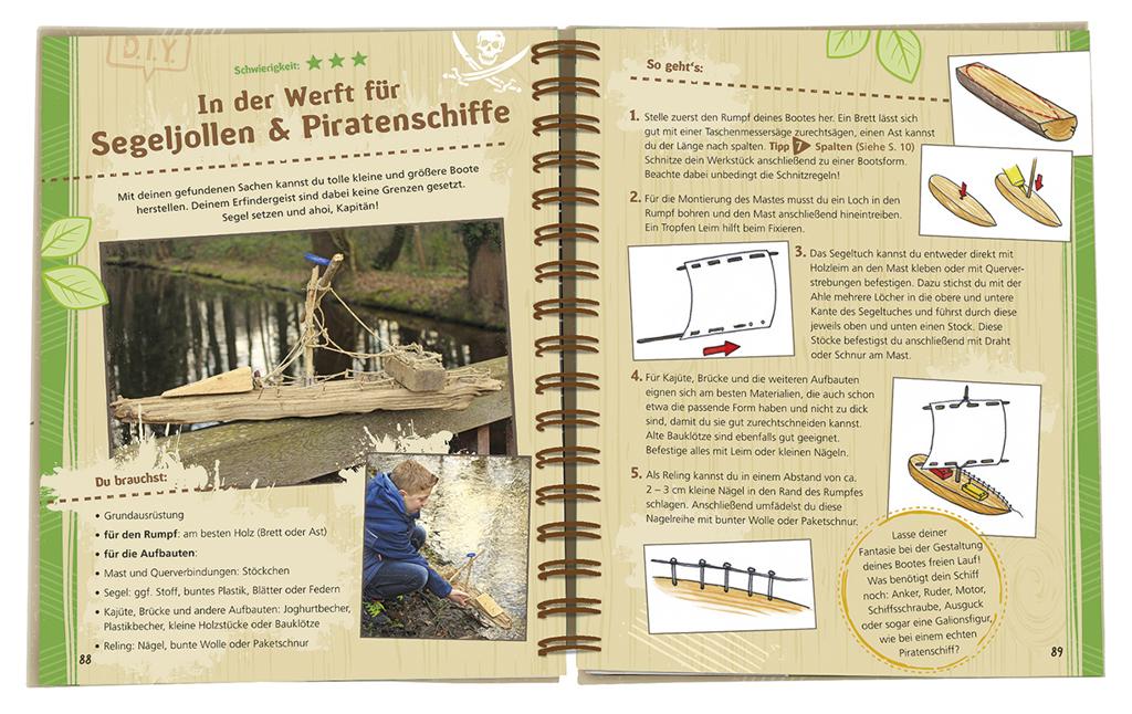 Expedition Natur - Das Taschenmesser-Schnitzbuch
