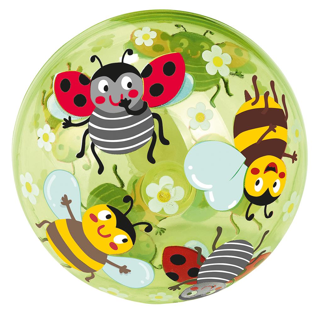 Krabbelkäfer Leuchtender Sprungball Biene